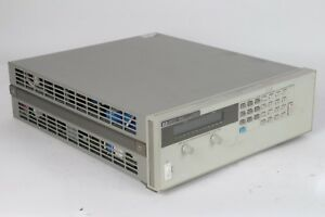 Hp Agilent 6651a System Dc Power Supply 0 8v 0 50a