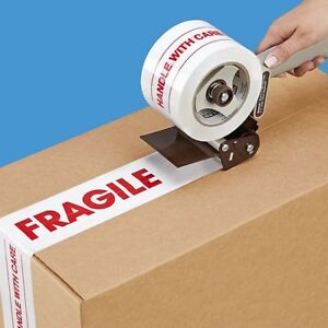 Fragile Handle With Care Strong Moving Tape For Personal Professional Use