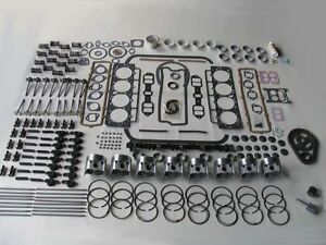Most Complete Deluxe Engine Rebuild Kit W Rocker Arms 59 60 61 62 Cadillac 390