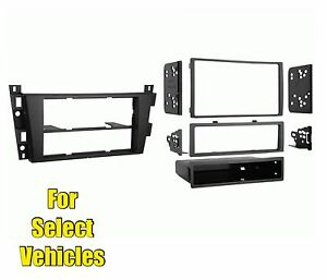 Car Stereo Radio Install Mount Dash Trim Face Kit For Select Cadillac Vehicles