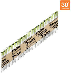 Paslode 2 In X 0 113 gauge 30 Galvanized Ring Shank Paper Tape Framing Nails
