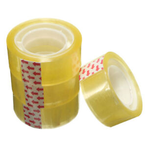 Lot 1 36 Roll 15mm Clear Transparent Sticky Sealing Self Adhesive Packing Tape