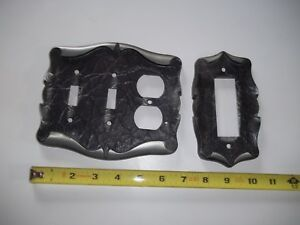 Vintage Amerock Carriage House Combination Switchplate Outlet Covers