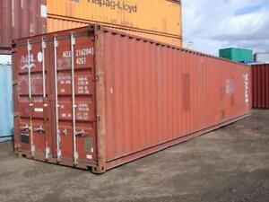 Used Shipping Container 40ft 1999 Houston Tx