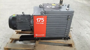 Edwards 175 Two stage Vacuum Pump E2m175 S n 099410080 Refurbished