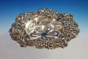 Rose By Black Starr And Frost Sterling Silver Fruit Bowl Pierced 108 2983