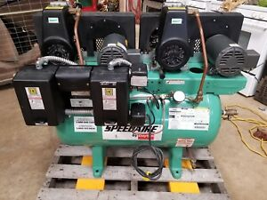 Speedaire Compressor 5z698 3 4 Hp Duplex 3 Phase
