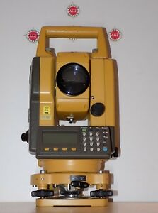 Topcon Total Station Gts 105n Calibrated Free Shipping Worldwide