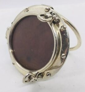 Tiffany Co Authentic Sterling Silver Boat Porthole Window Picture Frame