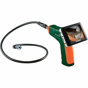 Extech Wireless Inspection Camera And Video Borescope Kit 3 5 Color Lcd Display