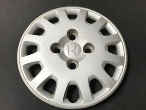 Honda Accord 14 Oem Wheel Cover Hub Cap Silver 44733 S0a 0000 2001 2002