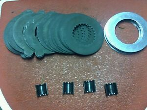 Corvette Rear End Differential Positraction Clutch Plate Kit Complete