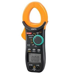 Auto ranging Digital Clamp On Meter Multimeter With Ncv ac dc Voltage Resistor