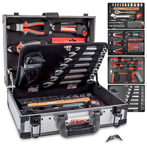 Large Piece Socket Set 91 Pc Cr v Steel Tool Set