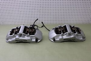 2003 03 Mercedes Amg Cl55 Cl W215 Amg Front Pair Brake Caliper Calipers Brembo