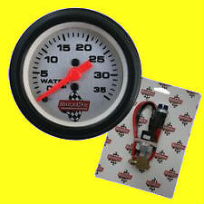 Quickcar Ouickcar Quick Light Water Pressure Kit With Gauge Race Car Boat