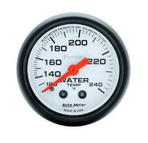 Auto Meter 5732 Gauge Water Temp 2 1 16 120 240 Mechanical Phantom