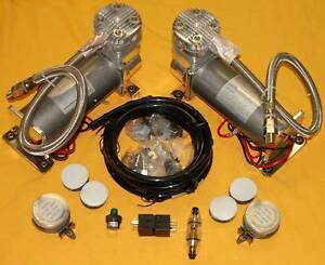 Viair Air Ride Suspension 200 Psi Pewter Compressors 480c Compressor