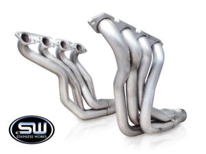 Stainless Works Chevy Chevelle Big Block 1964 67 Headers 2