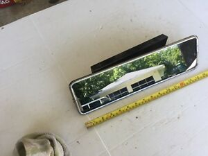 Large Rear View Mirror Excellent Original Truck Bus Hearse Limo Tractor Camper