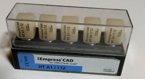 Ips Empress Cad Cerec In Lab Dental Teeth Blocks Ht A1 I 12 Milling Unit Tooth