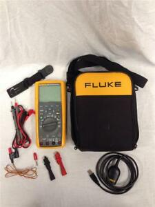 Fluke 289 Fvf True Rms Data Logging Multimeter With Probes leads