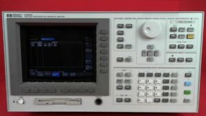 Hp Agilent Keysight 4156a Semiconductor Parameter Analyzer