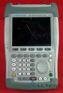Rohde Schwarz Fsh3 13 Mobile Spectrum Analyzer fsh3 1145 5850 13