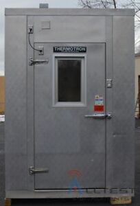 Thermotron Wp 286 chm 10 Panel Walk in Chamber 34 c To 85 c