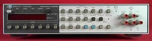 Hp Agilent Keysight 3455a Digital Multimeter Bench 6 5 Digits