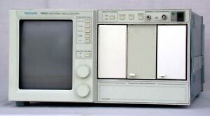 Tektronix 11402 Digital Oscilloscope Mainframe 2d memory Expansion