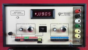 Vishay Measurement Group 3800 Wide Range Strain Indicator