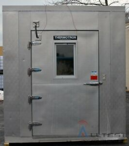 Thermotron Wp 393 thcm2 10 Panel Walk in Chamber 34 c To 85 c