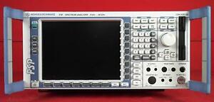 Rohde Schwarz Fsp40 Spectrum Analyzer To 40 Ghz