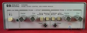 Hp Agilent 1143a Probe Offset Control And Power Module