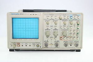 Tektronix 2432 Digital Oscilloscope 250 Mhz 250 Ms s 2ch