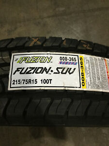1 New 215 75 15 Fuzion Suv Tire