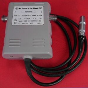 Rohde Schwarz Nrt z43 Directional Power Sensor 0 04 4 Ghz