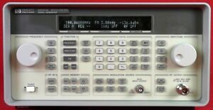 Hp Agilent Keysight 8647a Synthesized Signal Generator 250khz To 1ghz