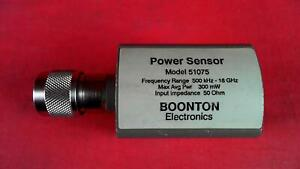 Boonton 51075 10 Mhz To 18 Ghz Power Sensor