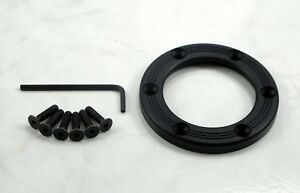Nardi Personal Horn Button Trim Ring Black Anodized Aluminum Screws At Sight