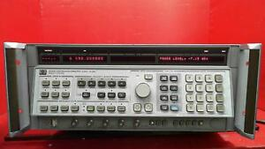 Hp agilent keysight 8341b 003 Synthesized Sweep Signal Generator 10mhz To 20ghz