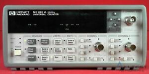 Hp Agilent Keysight 53132a 010 Frequency Counter