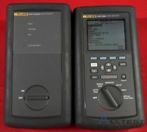 Fluke Network Dsp 2000 dsp 2000sr Digital Cable Analyzer With Remote 5878