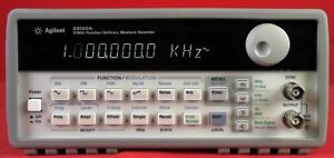 Hp Agilent Keysight 33120a 001 Function Arbitrary Waveform Generator