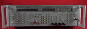Wiltron 6759a 10 Synthesized Signal Generator 10 Mhz 26 5 Ghz 110db 707011