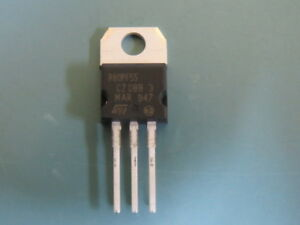 St Micro Stp80pf55 Qty Of 25 Per Lot P channel Power Mosfet Trans Mosfet P ch