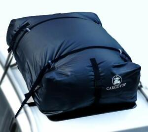 Rooftop Cargo Carrier Bag Waterproof Luggage 15 Cubic Ft For Suvs Roof Rail Rack
