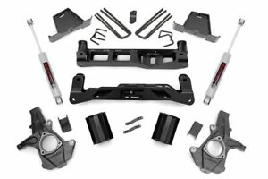 Rough Country 263 20 7 5 Lift Kit For Chevy 07 13 Silverado 1500 2wd Gm