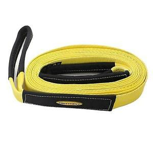 Smittybilt 2 Inch 30 Foot Tow Strap yellow Cc230
